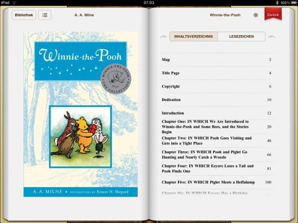 iBooks auf dem iPad