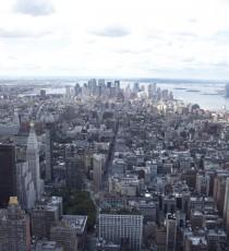 Die Aussicht vom Empire State Building