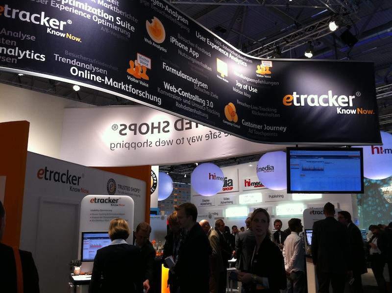 DMEXCO 2010 - eTracker Stand