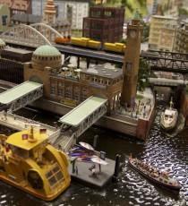 Landungsbrücken im Miniatur Wunderland Hamburg
