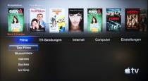 Apple TV - Filme ausleihen