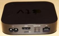 Apple TV Rückseite mit Anschlüssen
