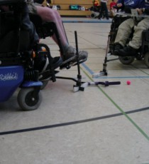 E-Hockey in der Schule Hirtenweg