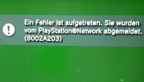 PSN Hack Ausfall