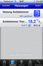 Homematic iPhone Pocket Home