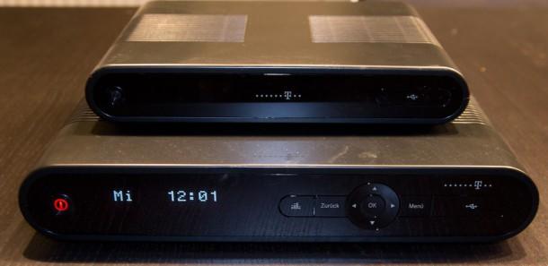 T-Entertain Receiver - Oben MR102 Unten MR303