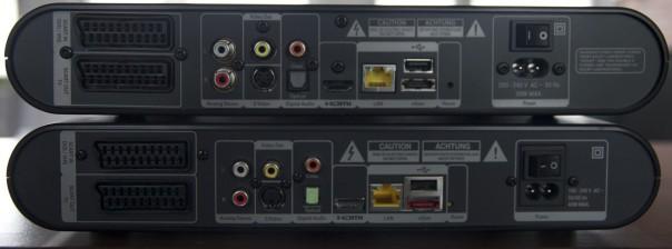 T-Entertain Receiver MR303A und MR303B im Vergleich