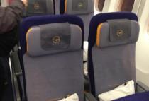 Sitze der Lufthansa Boenig 747 8i