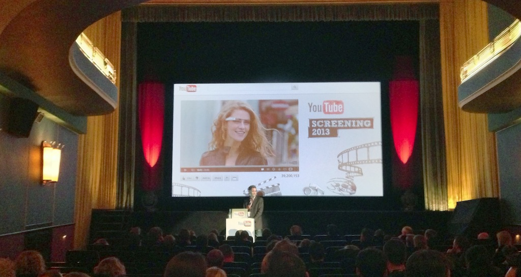 Youtube Screening 2013 in Hamburg