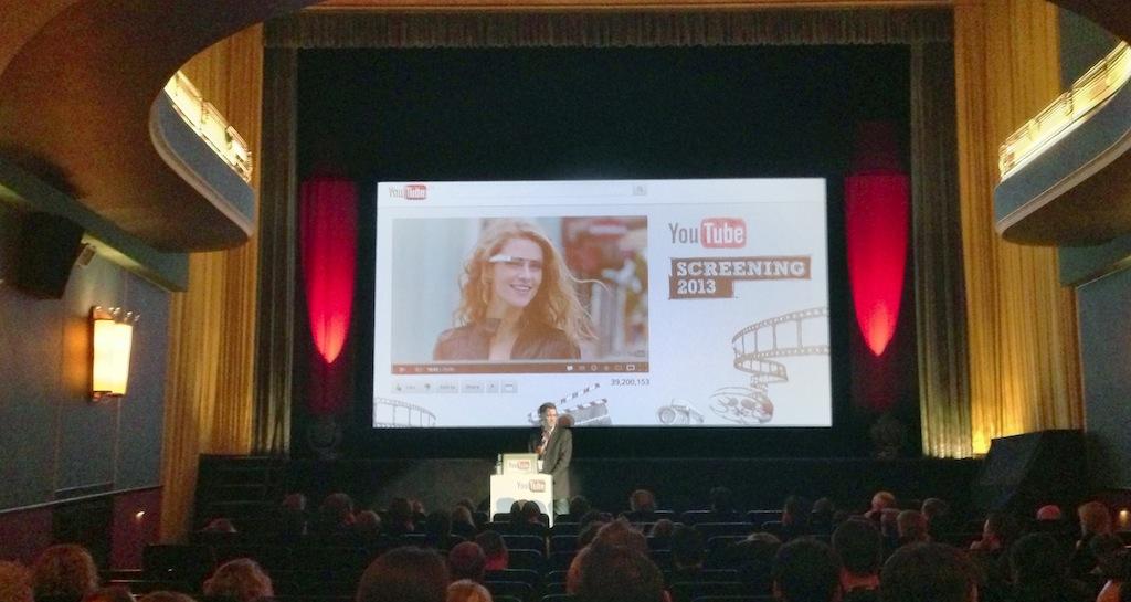 Youtube Screening 2013 in Hamburg