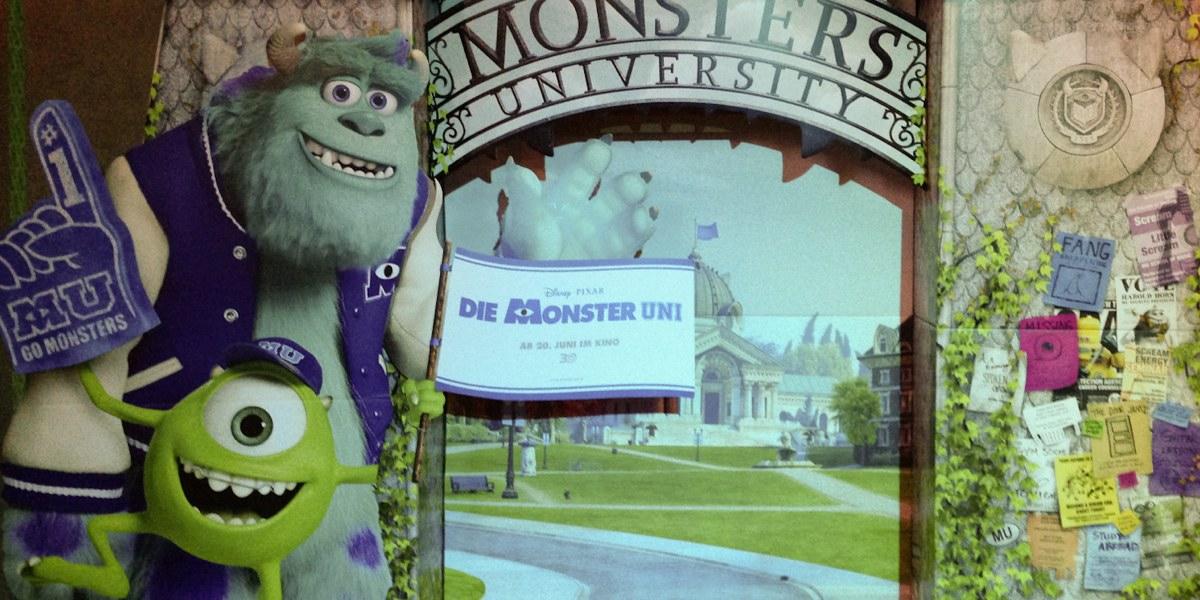 Filmkritik Die Monster Uni von Pixar