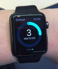 Apple Watch Sport am Handgelenk