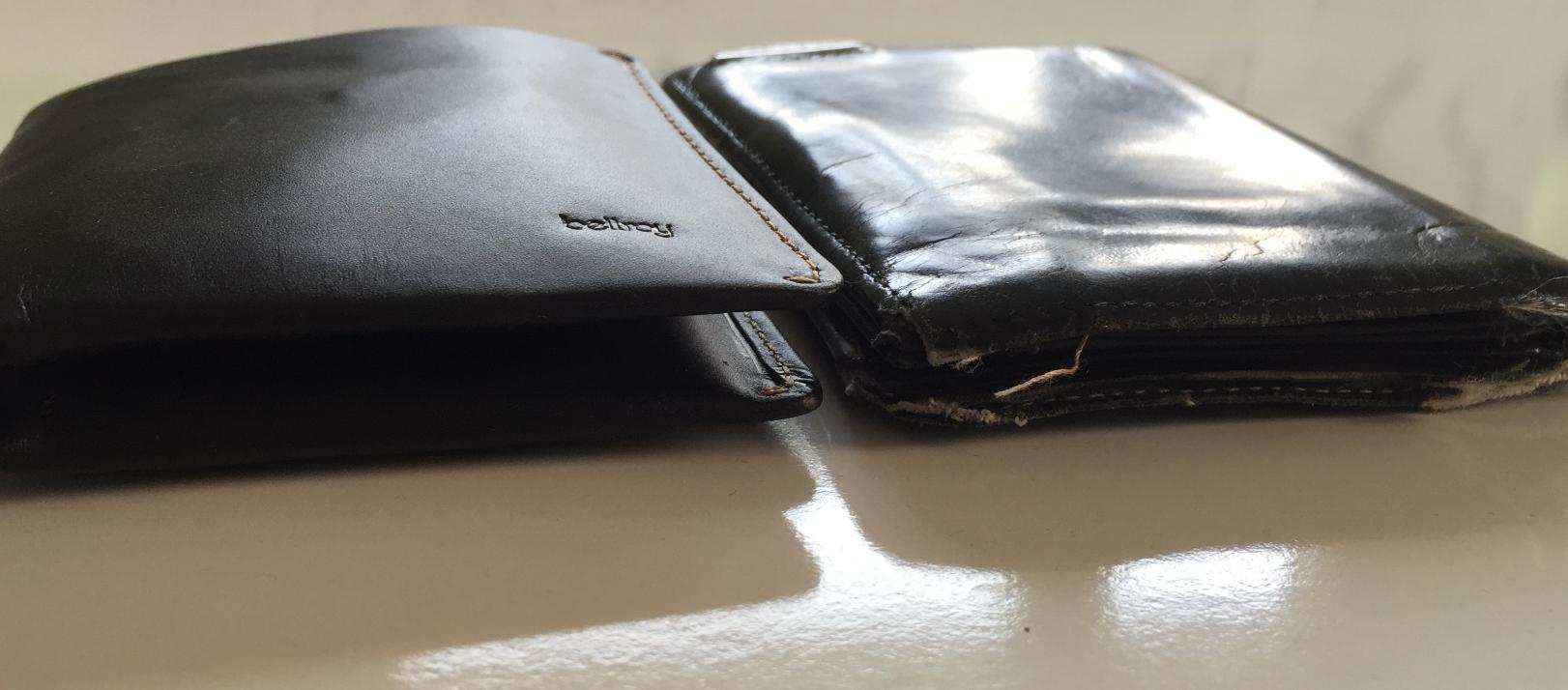 7586a492e55b Der Bellroy Note Sleeve - das schlanke Portemonnaie