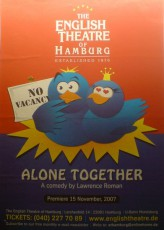 Alone Together - Englisches Theater Hamburg
