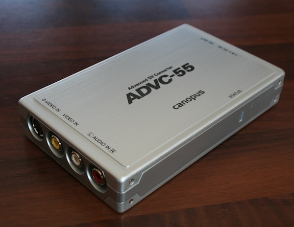 Canopus ADVC-55 Advanced DV Converter