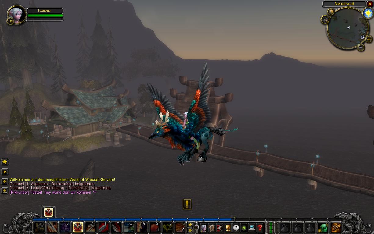 Wolrd of Warcraft Screenshot - Fliegendes Reittier