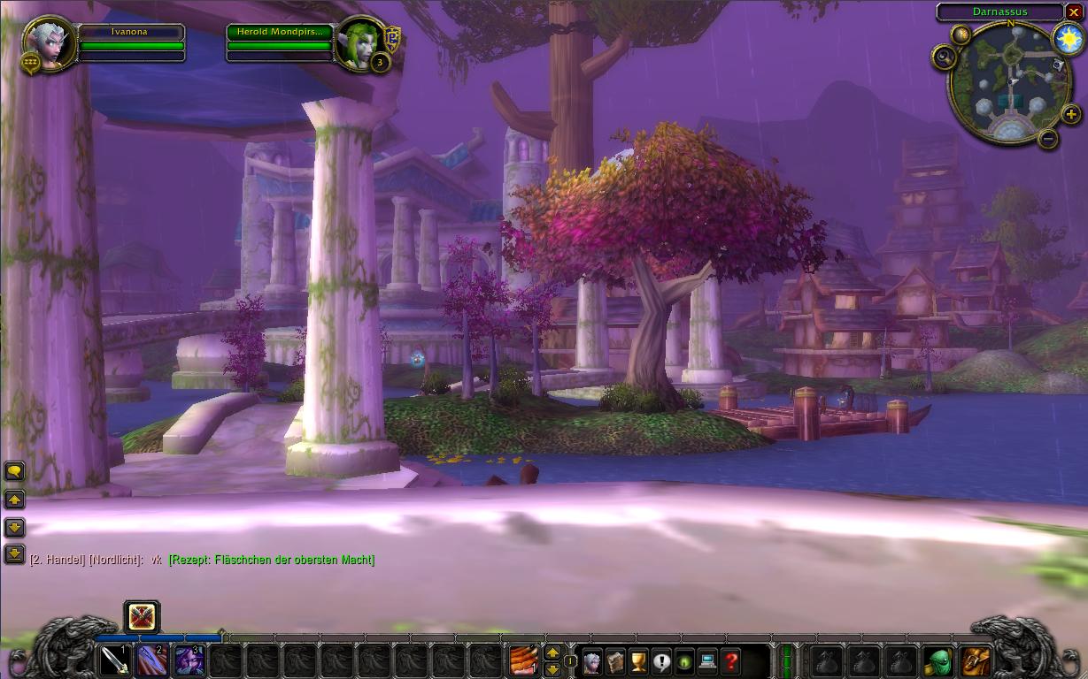 Wolrd of Warcraft - Darnassus