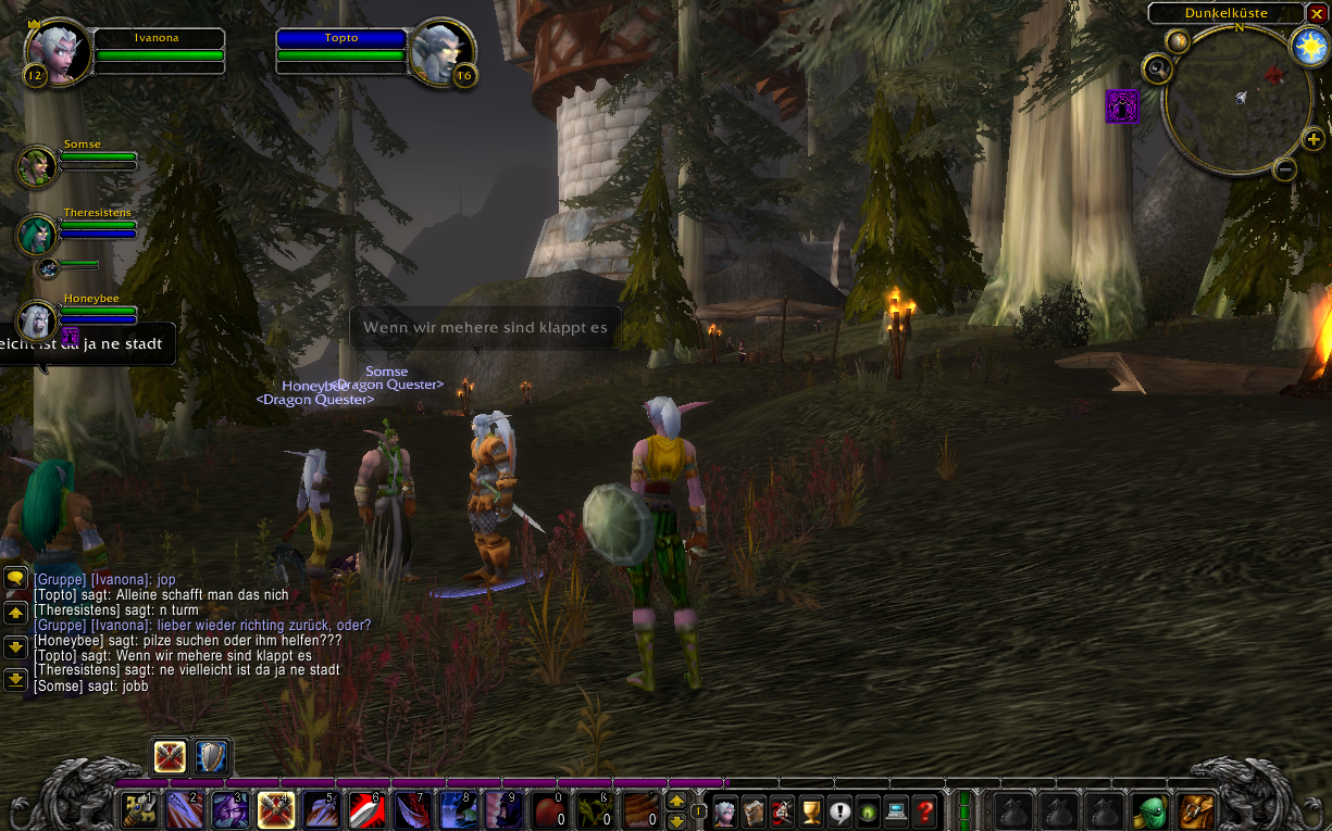 World of Warcraft - Teamplay