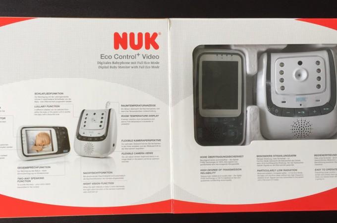 nuk eco control video babyphone verpackung