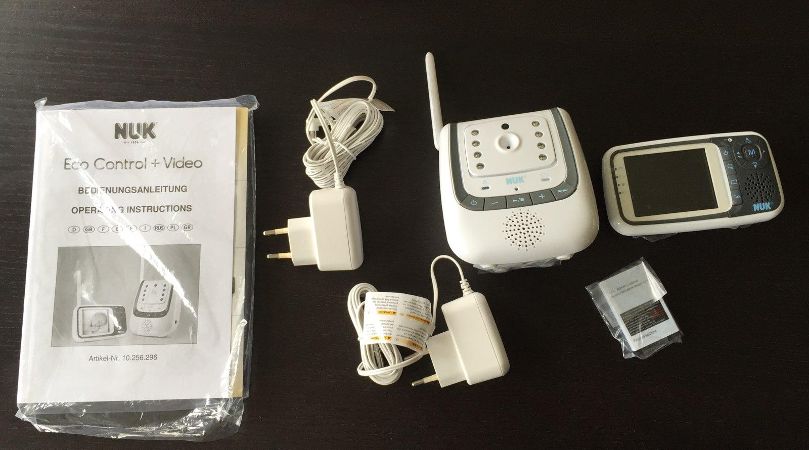 nuk eco control plus video babyphone