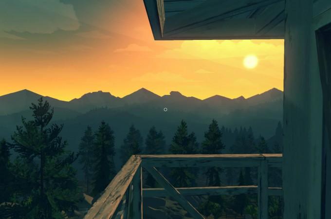 Firewatch auf der PS4